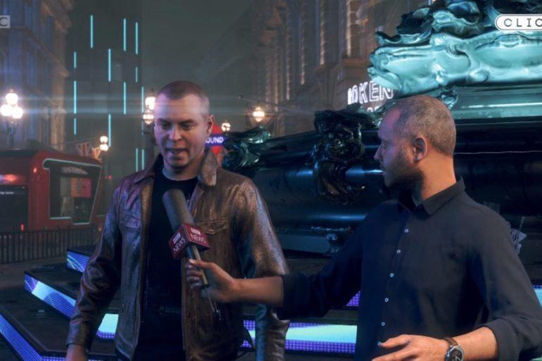 Watch Dogs Legion BBC oyun içi röportaj Oyunpat-oyunpat