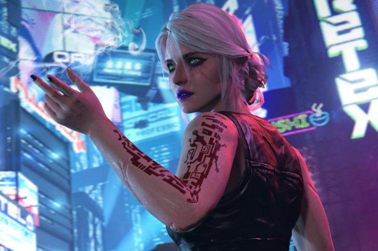 cyberpunk 2077 science fiction dyst KPik cover-oyunpat
