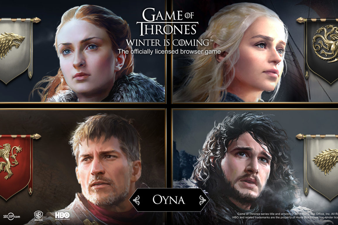 "101XP, oyuncuları ""Game of Thrones: Winter is Coming"" dünyasına davet ediyor"