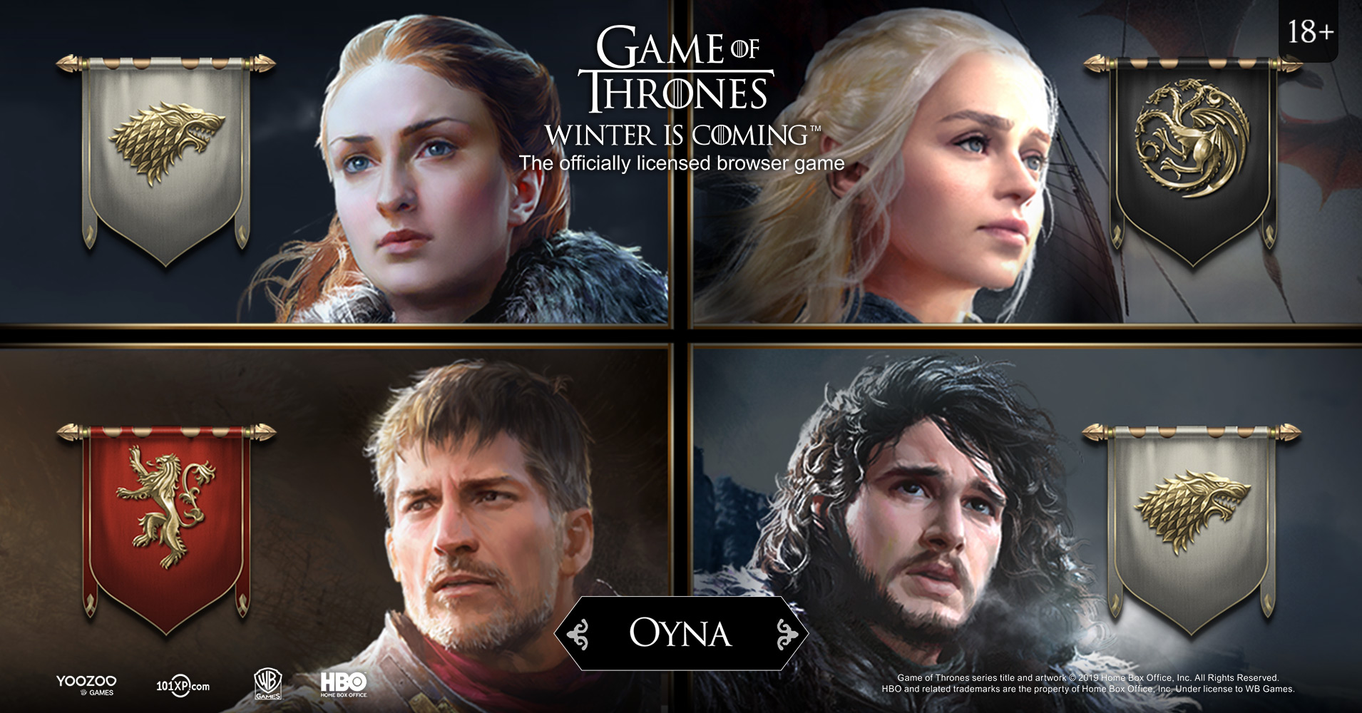 """101XP, oyuncuları """"Game of Thrones: Winter is Coming"""" dünyasına davet ediyor - Oyunpat"""