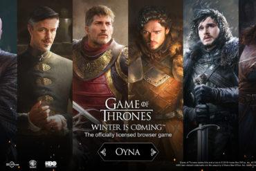 Tarayıcı tabanlı strateji oyunu Game of Thrones: Winter is Coming çıktı