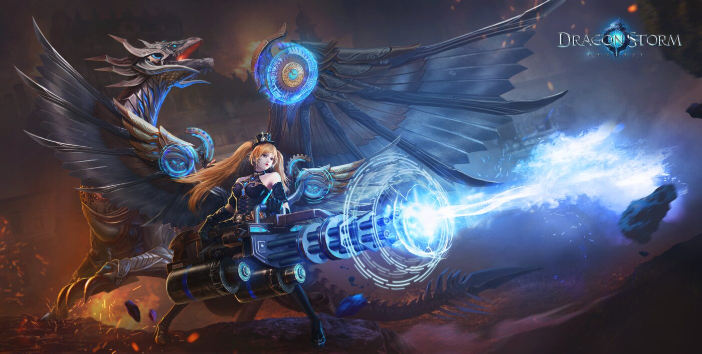 Dragon Storm Fantasy evreninde ejderha ol, kaderini belirle