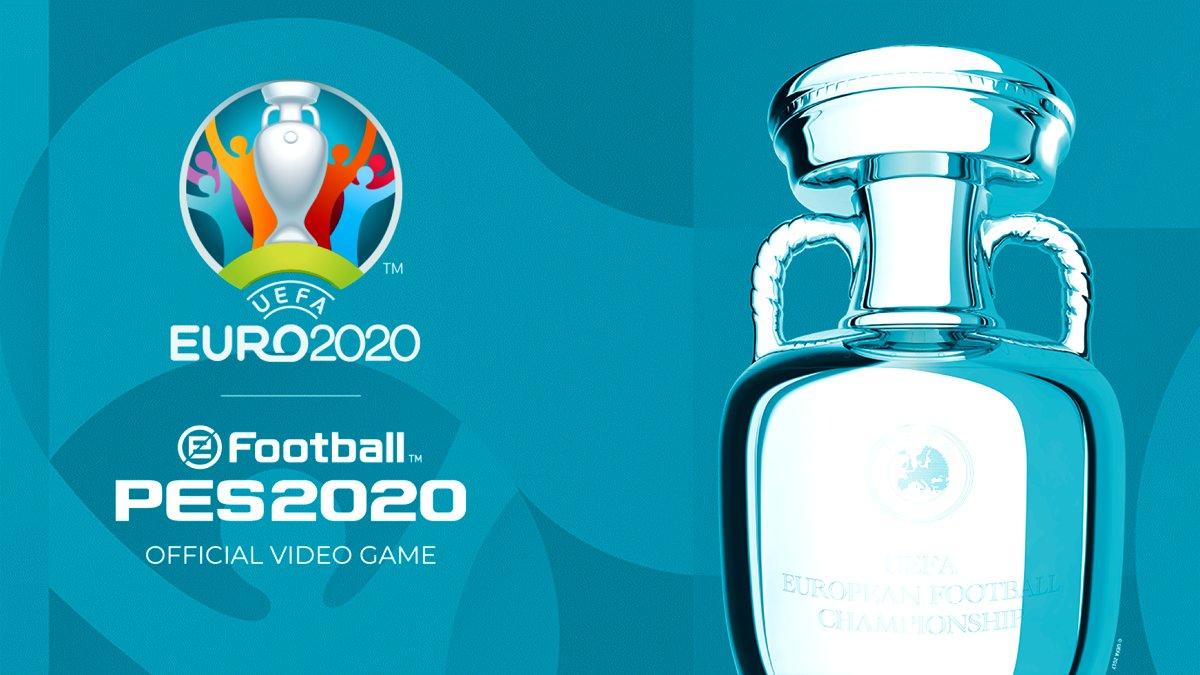 PES 2020 için şimdi Euro 2020 DLC'si çıktı