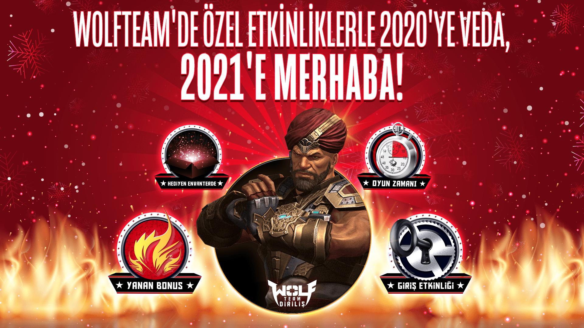 Yeni yıl Wolfteam'de fırsat dolu etkinliklerle kutlanacak - Oyunpat