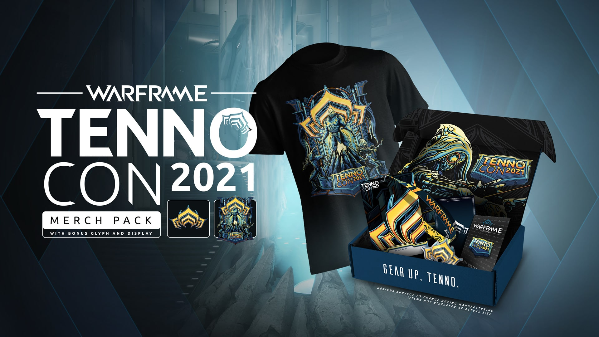 Warframe Tennocon 2021 Merch Pack Oyunpat min-oyunpat