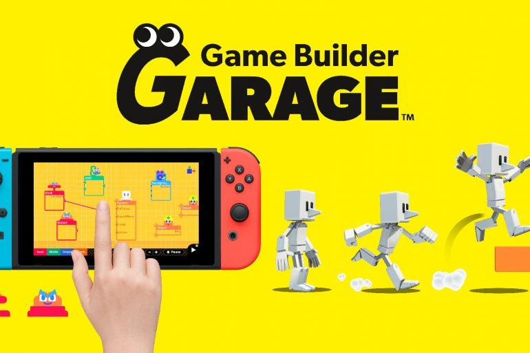 Nintendo Game Builder Garage