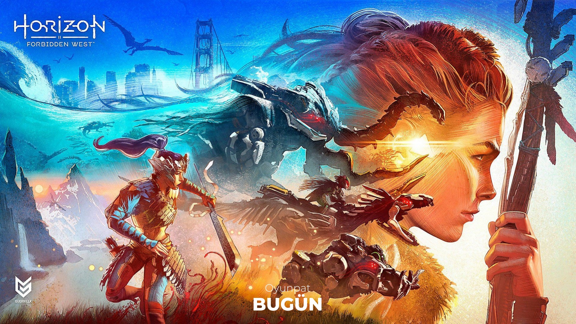Horizon Forbidden West min-oyunpat